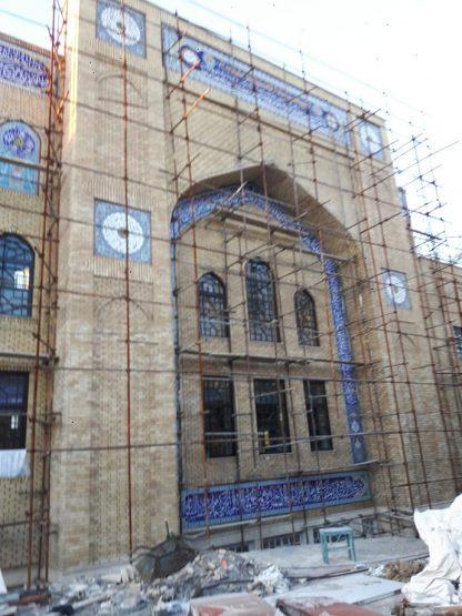 ضداب سازی نمای مسجد با زایکوسیل